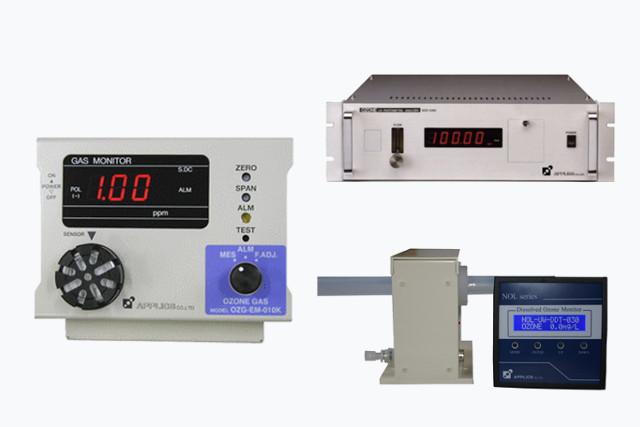 オゾン計測器・オゾン水分解器などオゾン関連製品の開発・製造・販売・レンタル・アフターサービスまで~使いやすいハンディタイプをお探しの方も~